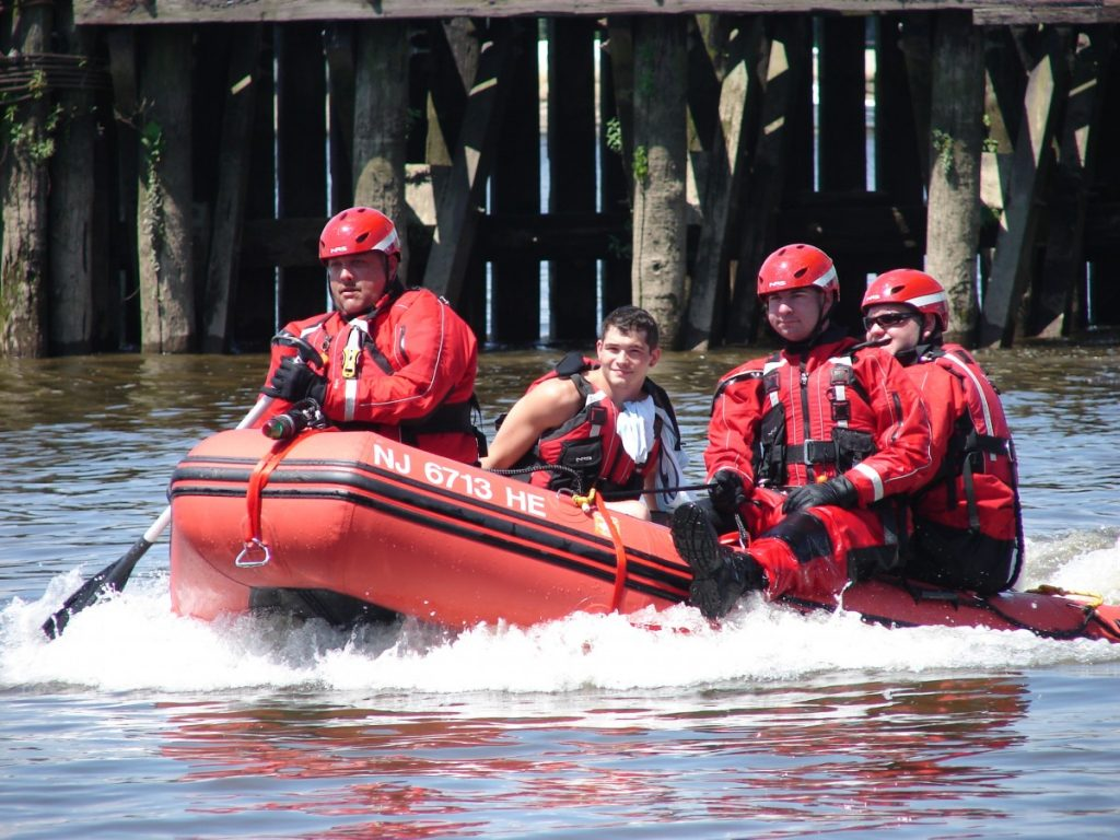 Water Rescue Exercise
